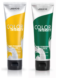 Color Intensity Yellow & Green Tubes
