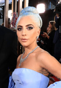 Lady gaga with blue hair
