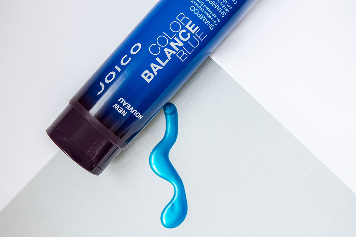 Color Balance Blue shampoo bottle