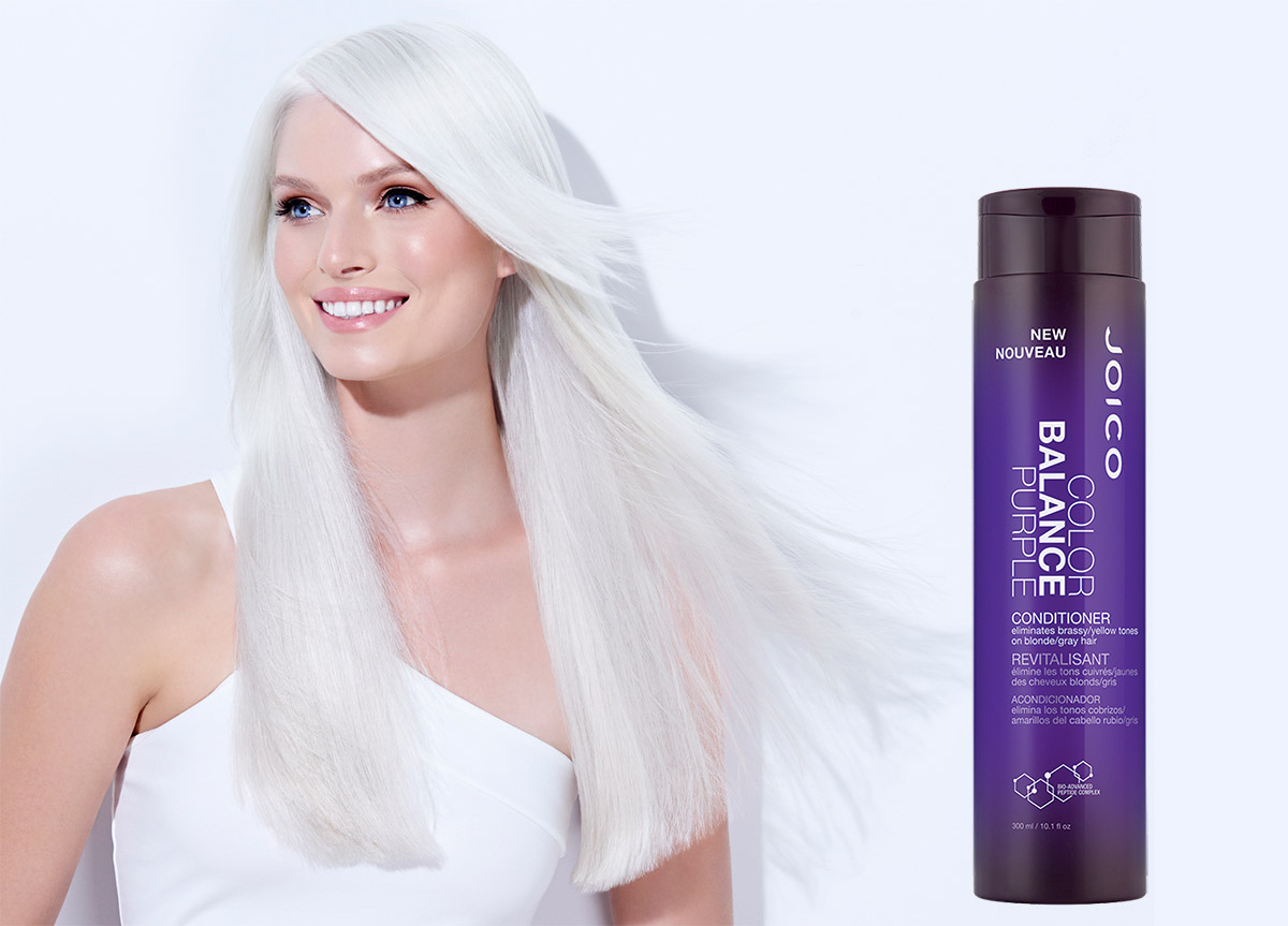 Color Balance Purple Conditioner Model and Product