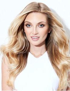 Blonde model hairstyles