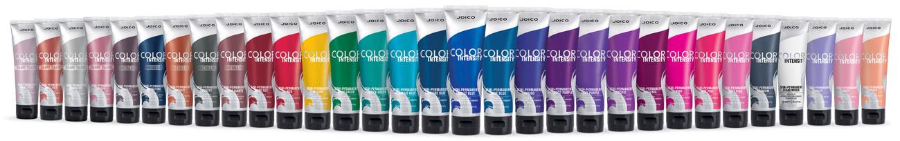Color intensity full line bottles