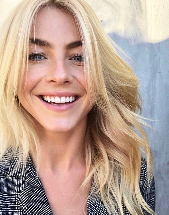 Julianne hough blonde hair color
