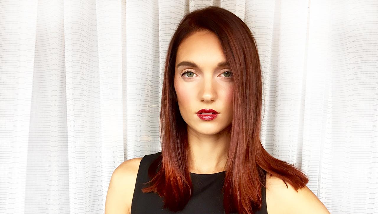 Scarlet Red Hair Color Formula Model After
