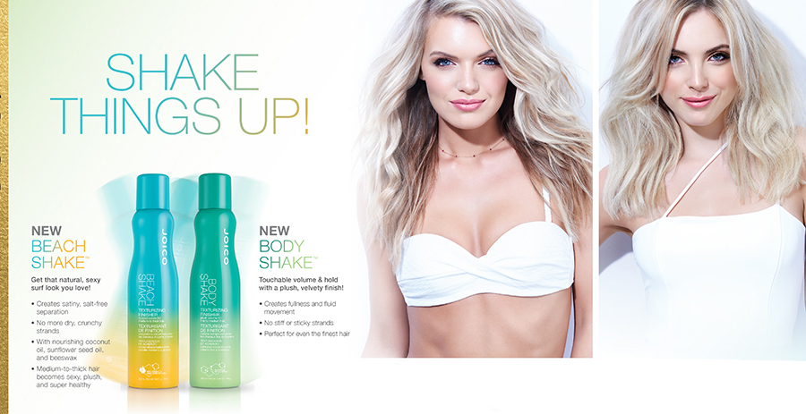 Beach Shake and Body Shake Product Information Sheet