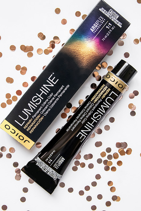 LumiShine Permanent Creme Color Tube
