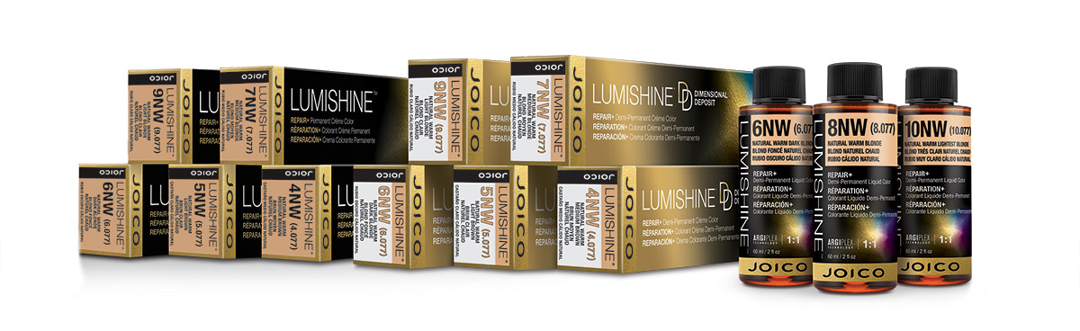LumiShine Warm Series Boxes and Bottles Full Line